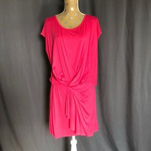 Three Dots hot pink dress size Medium